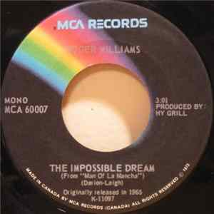 "Roger Williams - The Impossible Dream / Love Theme From ""Romeo And Juliet"" mp3"