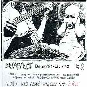Disaffect - Demo '91 - Live '92 mp3